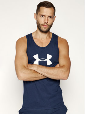 Under Armour Under Armour Tank top Sportstyle Logo 1329589 Tmavomodrá Regular Fit