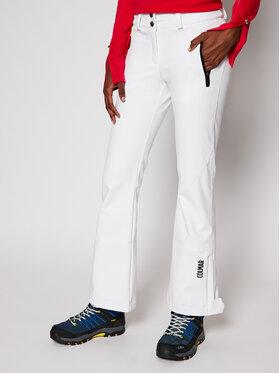 Colmar Colmar Spodnie narciarskie Shelly 0269G 4KO Biały Regular Fit