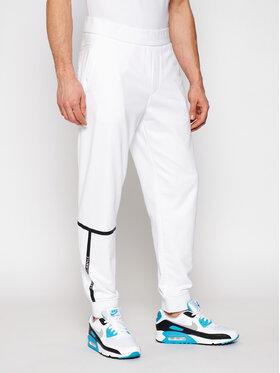 Armani Exchange Armani Exchange Sportinės kelnės 3KZPFE ZJ9FZ 1100 Balta Regular Fit