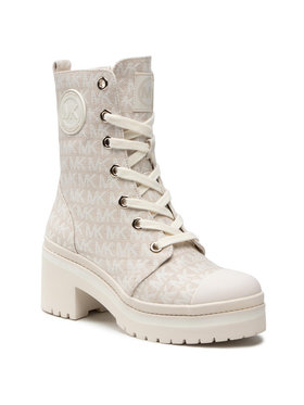 MICHAEL Michael Kors MICHAEL Michael Kors Botki Corey Bootie 40S1COME6Y Beżowy