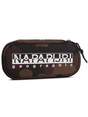 Napapijri Napapijri Κασετίνα Happy Po Print N0YIXU Πράσινο