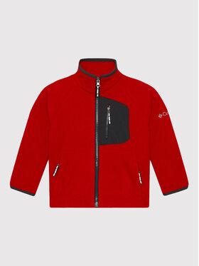 Columbia Columbia Fliso džemperis Fast Trek™ 1887852 Raudona Regular Fit