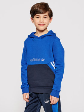 adidas adidas Felpa Collection Hoodie GN2384 Blu scuro Regular Fit