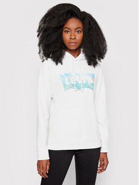 Levi's® Levi's® Majica dugih rukava Graphic Standard 18487-0069 Bijela Regular Fit