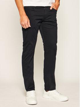 Emporio Armani Emporio Armani Spodnie materiałowe 3H1J06 1NEDZ 0922 Granatowy Slim Fit