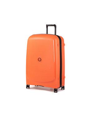 Delsey Delsey Velký tvrdý kufr Belmont Plus 00386182625 Oranžová