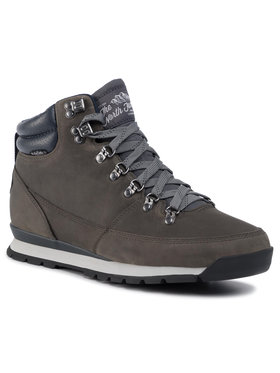 The North Face The North Face Trekingová obuv Back-To Berkeley Redux Leather T0CDL0H73 Sivá