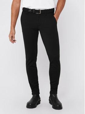 Only & Sons ONLY & SONS Kalhoty z materiálu Mark 22010209 Černá Slim Fit