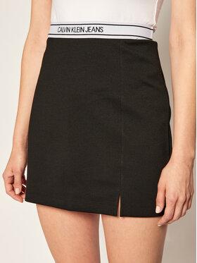 Calvin Klein Jeans Calvin Klein Jeans Φούστα mini J20J214123 Μαύρο Regular Fit