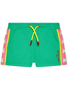 Little Marc Jacobs Little Marc Jacobs Спортни шорти W14267 S Зелен Regular Fit