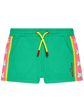 Little Marc Jacobs Little Marc Jacobs Sportovní kraťasy W14267 S Zelená Regular Fit