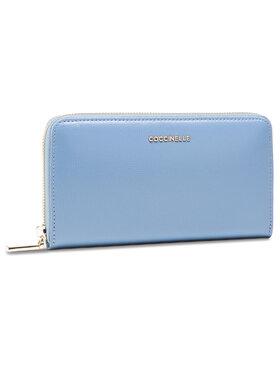 Coccinelle Coccinelle Velká dámská peněženka HW0 Metallic Textured E2 HW0 11 32 01 Modrá