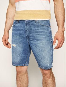 Wrangler Wrangler Pantaloni scurți de blugi W14CQ380S Bleumarin Regular Fit