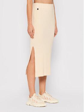 Outhorn Outhorn Pouzdrová sukně SPUD601 Béžová Slim Fit