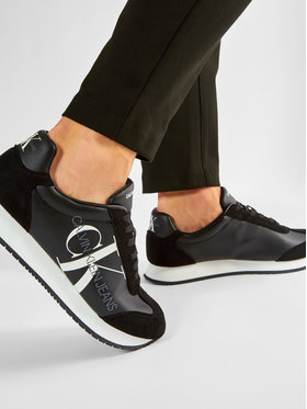 Calvin Klein Jeans Calvin Klein Jeans Sneakersy Joele B4S0716 Čierna
