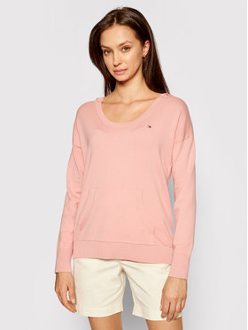 Tommy Hilfiger Tommy Hilfiger Pullover WW0WW30415 Rosa Relaxed Fit