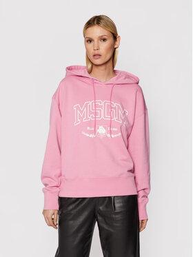 MSGM MSGM Sweatshirt 3141MDM170 217799 Rosa Loose Fit