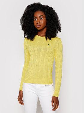 Polo Ralph Lauren Polo Ralph Lauren Sweater Lsl 211580009087 Sárga Regular Fit