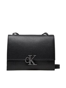 Calvin Klein Jeans Calvin Klein Jeans Torebka Minimal Monogram Sm Flap Xbody K60K608385 Czarny