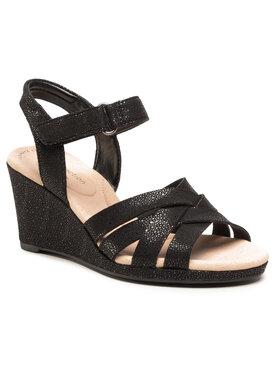 Clarks Clarks Sandále Lafley Leah 261577494 Čierna