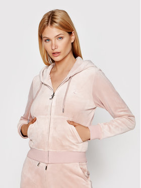 Juicy Couture Juicy Couture Μπλούζα Robertson JCAP176 Ροζ Regular Fit