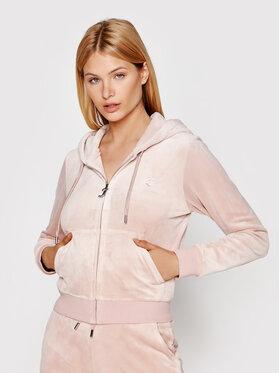 Juicy Couture Juicy Couture Суитшърт Robertson JCAP176 Розов Regular Fit
