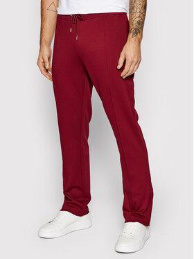 Guess Guess Pantaloni da tuta Phil U1BA24 FL03X Bordeaux Regular Fit