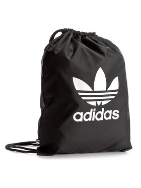 adidas adidas Раница Gymsack Trefoil BK6726 Черен