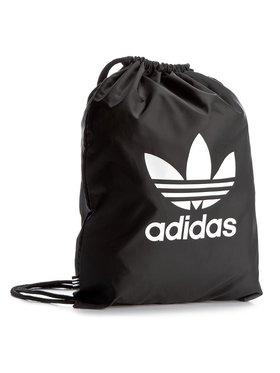 adidas adidas Worek Gymsack Trefoil BK6726 Czarny