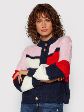 Tommy Jeans Tommy Jeans Cardigan Tjw Colorblock DW0DW11000 Multicolore Boxy Fit