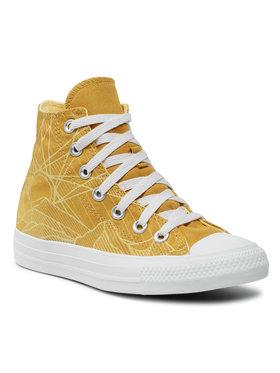 Converse Converse Sneakers aus Stoff Ctas Hi 170675C Gelb