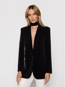 KARL LAGERFELD KARL LAGERFELD Blejzer Tailored 211W1405 Čierna Straight Fit