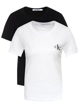 Calvin Klein Jeans Calvin Klein Jeans Σετ 2 T-Shirts Lot De J20J214364 Έγχρωμο Slim Fit