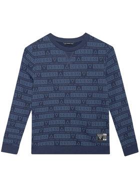 Guess Guess Bluza L1YQ00 KA6R0 Granatowy Regular Fit