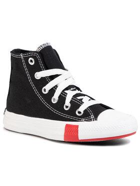 Converse Converse Кецове Ctas Hi 366988C Черен