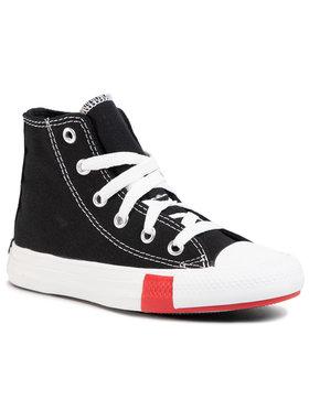 Converse Converse Plátenky Ctas Hi 366988C Čierna