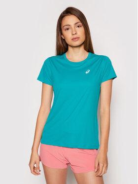 Asics Asics Тениска от техническо трико Silver 2012A029 Зелен Regular Fit