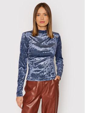 Guess Guess Блуза W1BP12 KATS0 Син Slim Fit