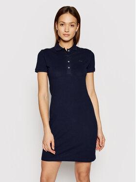 Lacoste Lacoste Kasdieninė suknelė EF5473 Tamsiai mėlyna Slim Fit