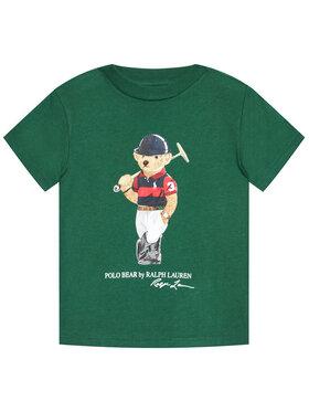 Polo Ralph Lauren Polo Ralph Lauren Marškinėliai Ss Cn 322838244001 Žalia Regular Fit