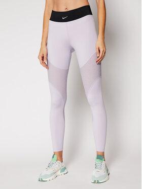 Nike Nike Leginsai Pro Areoadapt CJ3593 Violetinė Slim Fit