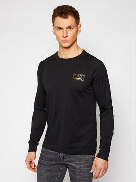 EA7 Emporio Armani EA7 Emporio Armani Тениска с дълъг ръкав 6HPT46 PJM9Z 1200 Черен Regular Fit