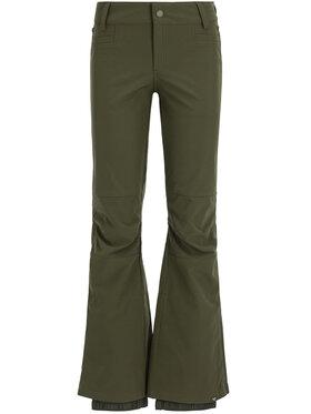 Roxy Roxy Spodnie snowboardowe Creek ERJTP03089 Zielony Skinny Fit