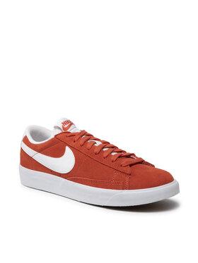 Nike Nike Обувки Blazer Low Suede CZ4703 800 Оранжев