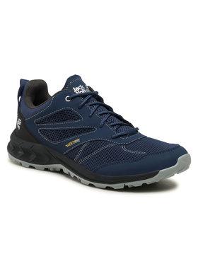 Jack Wolfskin Jack Wolfskin Turistiniai batai Woodland Vent Low M 4039221 Tamsiai mėlyna