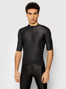 Quest Quest Maglietta da ciclismo Stone Nero Slim Fit