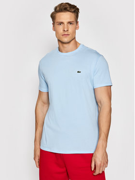 Lacoste Lacoste Marškinėliai TH6709 Mėlyna Regular Fit