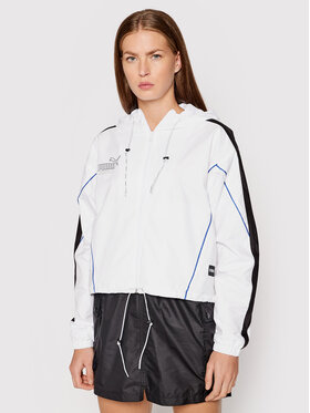 Puma Puma Демісезонна куртка Queen 598846 Білий Loose Fit