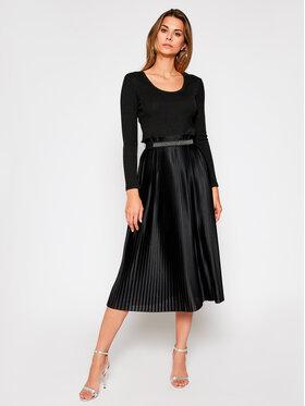 Liu Jo Liu Jo Sukienka koktajlowa WF0297 J6032 Czarny Regular Fit