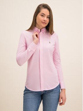 Polo Ralph Lauren Košeľa Oxford 211664427 Ružová Slim Fit